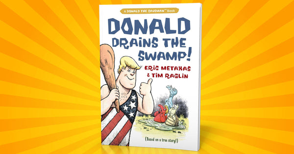 Donald Drains The Swamp - Trump Childrens Book