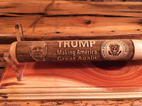 Super Collectible Engraved President Trump Mini Baseball Bat