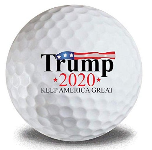 Donald Trump 2020 Keep America Great 12pk Golf Balls