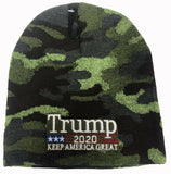 TRUMP 2020 KEEP AMERICA GREAT Knitted Warm Winter Skit Hat Beanie