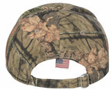 Veterans for Trump 2020 Hat With Camouflage Embroidered American Flag