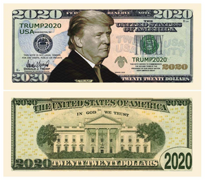 Donald Trump 2020 Novelty Bill