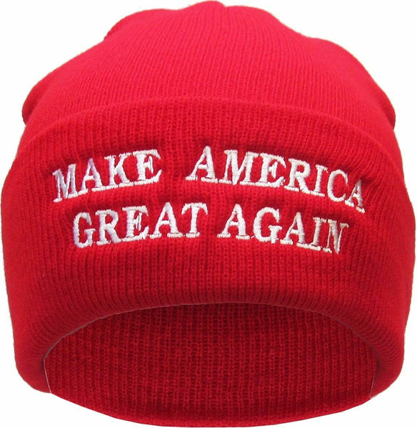 Make America Great Again Red Winter Hat