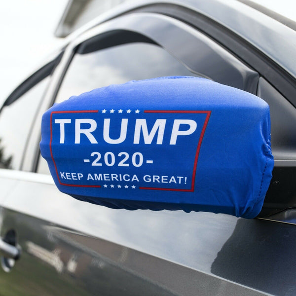 Blue Trump Vehicle Car Truck Mirror Covers