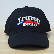 Load image into Gallery viewer, Donald Trump Embroidered 2020  Black Baseball Hat