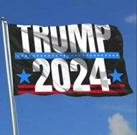 Trump 2024 Flag  3 x 5 feet with Two Brass Grommets