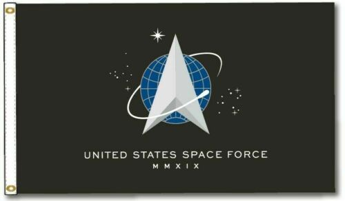 USSF United States Space Force Flag 3 x 5 feet with Two Brass Grommets