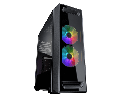 "Cougar ""MX 350 RGB Enhanced Visibility Mid-Tower Casing"