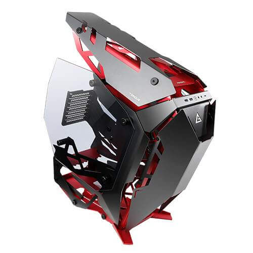 Antec TORQUE Black / Red Aluminum ATX Mid Tower Case