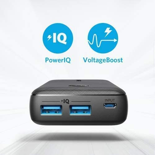 Anker PowerCore Select 10000 mAH Black PowerBank
