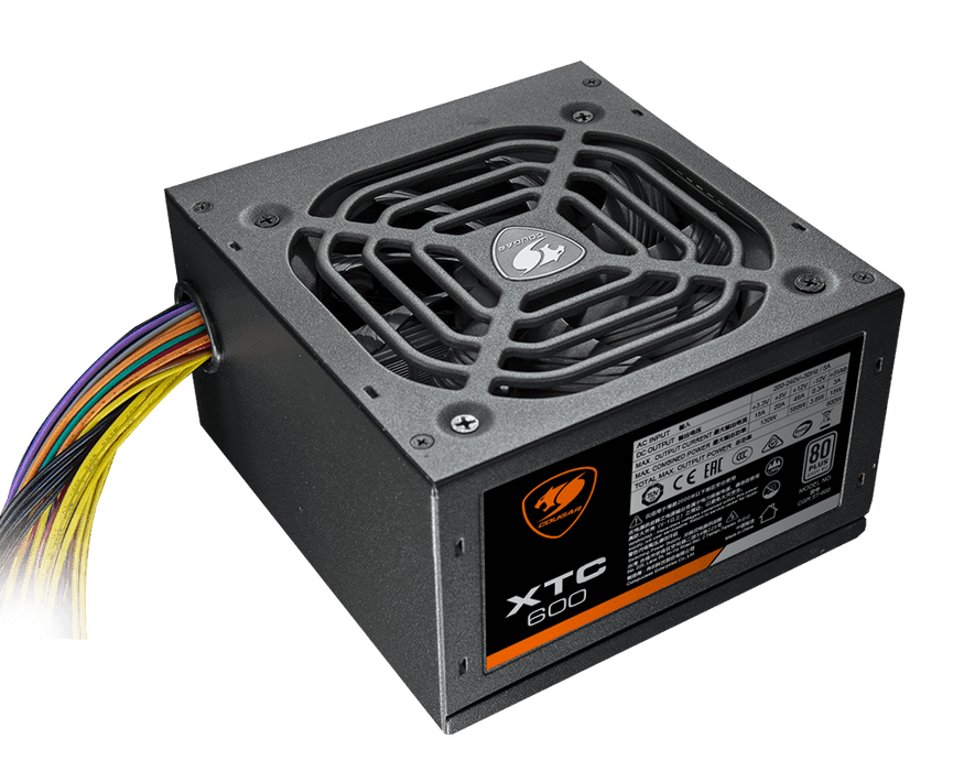 Cougar XTC600 600W 80 Plus EU Standard Power Supply