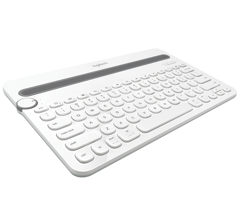 Logitech K480 Bluetooth Multi-Device White Keyboard