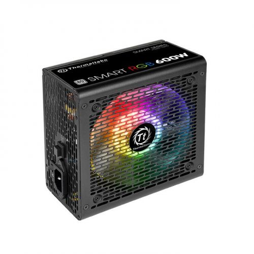 Thermaltake Smart RGB 600W 80 Plus Power Supply