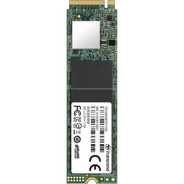 Transcend M.2 PCIe 110S 128GB Solid State Drive