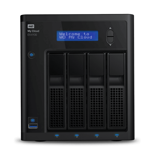 WD My Cloud EX4100 0TB External Hard Drive
