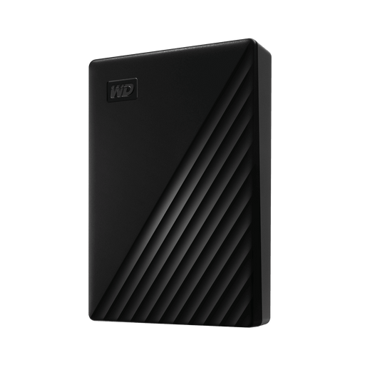 WD My Passport 4TB Portable External Hard Drive Black