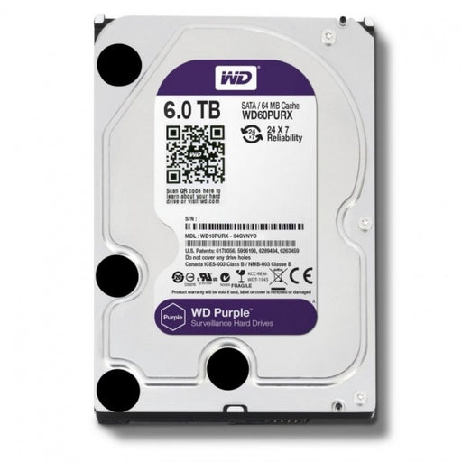 WD Purple 6TB Surveillance Hard Disk Drive