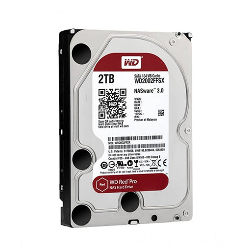 WD Red 2TB NAS Internal Hard Drive