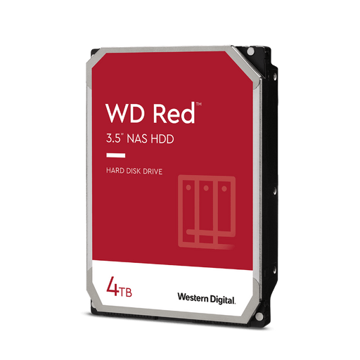 WD Red 4TB NAS Internal Hard Drive