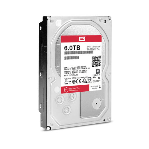 WD Red 6TB NAS Internal Hard Drive