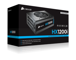 Corsair HXi Series HX1200i High-Performance ATX Power Supply