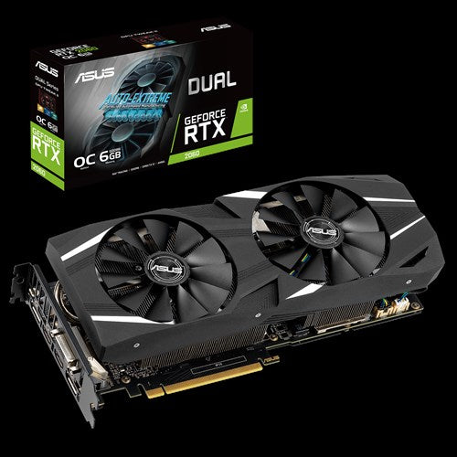 ASUS Dual GeForce RTX 2060 OC edition 6GB GDDR6