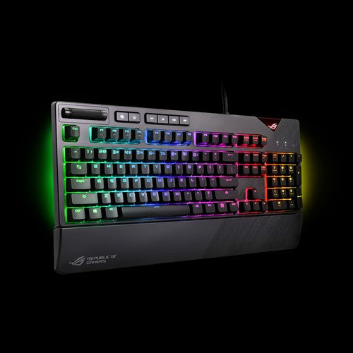 ASUS ROG Strix Flare RGB mechanical gaming keyboard with Cherry MX switches