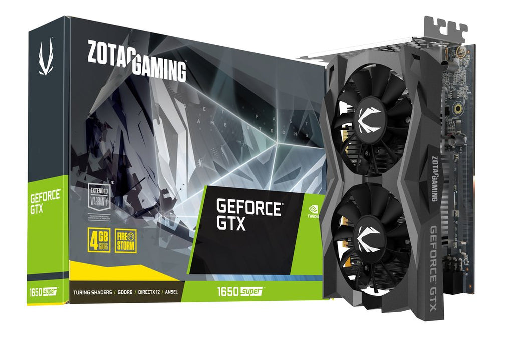 zotac gtx 1650 4gb super twin fan
