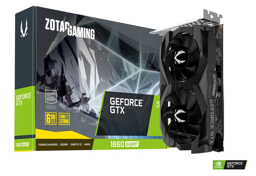 zotac gtx 1660 super twin fan