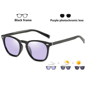 2019 Classic Retro Women Cat Eye Sunglasses Photochromic Polarized Pink Sun Glasses  Oculos gafas de sol mujer UV400