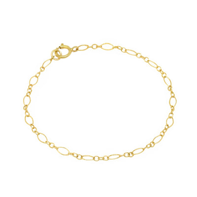 14K gold filled chain bracelet