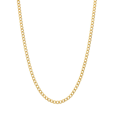 Gold filled Figaro chain necklace for everyday wear