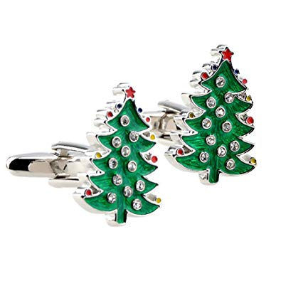 Christmas-tree-cufflinks