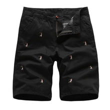 Load image into Gallery viewer, Men's  Embroidered Cargo Shorts