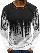 Load image into Gallery viewer, Splash-ink Pattern Long Sleeve Tee