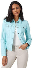 Load image into Gallery viewer, Women's Denim Jeans Jacket