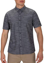 Load image into Gallery viewer, Textured Short Sleeve Button Up Shirt