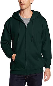 Full Zip Fleece Hoodie