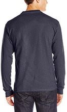 Load image into Gallery viewer, Long Sleeve Beefy Henley Shirt