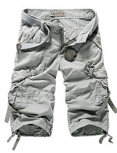 Load image into Gallery viewer, Men's Cargo Shorts Pants - Solid Colored