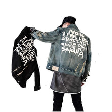 Load image into Gallery viewer, FASHION DENIM JACKET