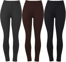 Load image into Gallery viewer, Womens Super Soft Leggings  Spandex Seamless Ankle