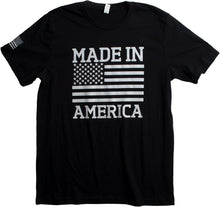 Load image into Gallery viewer, Made in America | USA Military Pride Tactical Subdued Merica Flag Unisex T-Shirt