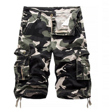 Load image into Gallery viewer, Men's Camouflage Military Cargo Shorts
