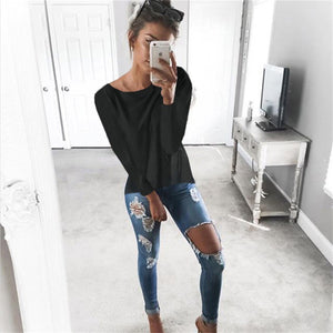 Women casual Loose Shirt Tops