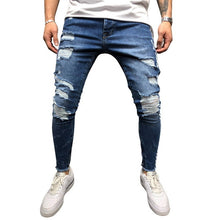 Load image into Gallery viewer, FASHION STREETWEAR SKINNY STRETCH JEAN