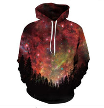 Load image into Gallery viewer, Men Women Space Galaxy 3D Print Hoodie Sweatshirts