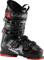 Mens Lange LX90 Black Red Ski Boots