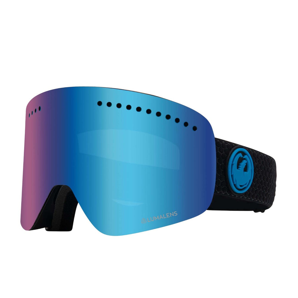 Unisex Dragon Nfx Snow Split Lumalens Blue Ionized Goggles