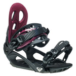 Womens Roxy Wahine Black Snowboard Bindings